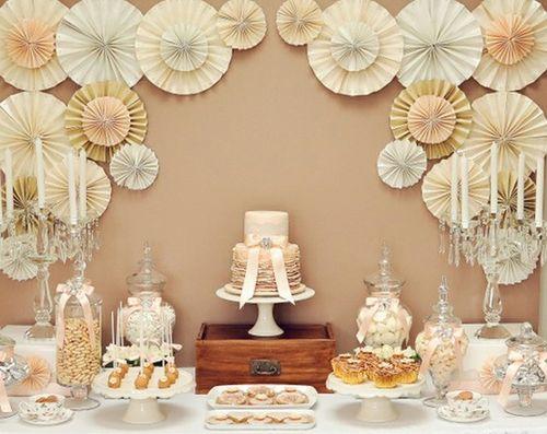【婚礼diy】手工纸扇,制作简单而富于变化的婚礼装饰物!